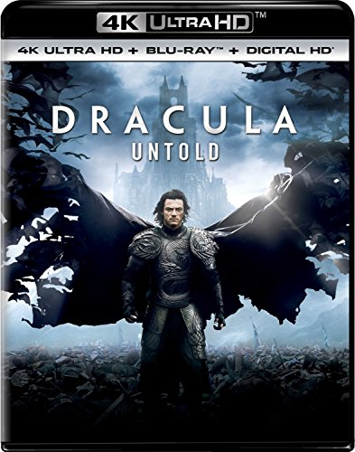 4K Blu-ray : Dracula Untold (With Blu-Ray, Ultraviolet Digital Copy, 4K Mastering, Digitally Mastered in HD, 2 Pack)