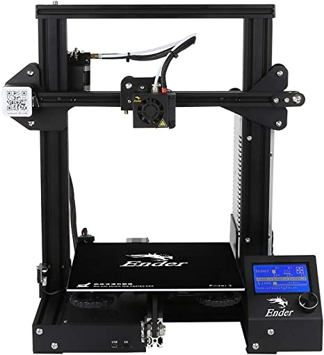 Kit de Impresora 3D Ender-3 V-Slot Prusa DIY (220 * 220 * 250 mm ...