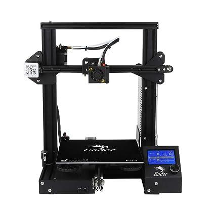 Kit de Impresora 3D Ender-3 V-Slot Prusa DIY (220 * 220 ...