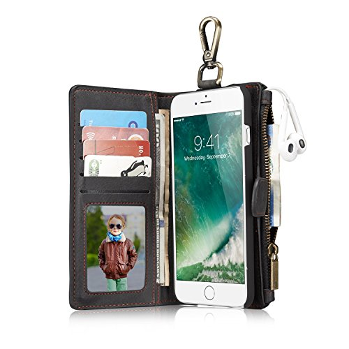 Leather wallet phone case iPhone...