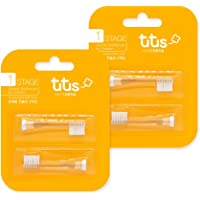 Aguard Tutus Electric Toothbrush Head Stage 1 DUPONT'S Tynex Brush, Ultra fine and Soft Suitable from 1year to 4years…