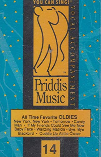 Priddis Music Vocal Accompaniment, You Can Sing #14 - All Time Favorite Oldies Cassette Tape