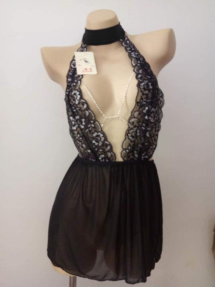 WXNLEAI Falda corta transparente medio expuesta falda corta ...