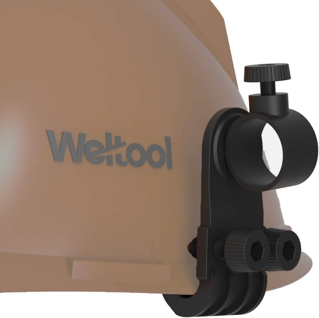 Outdoor Sports Helmet Lighting Flashlight Bracket  Mount Holder Supplies UK