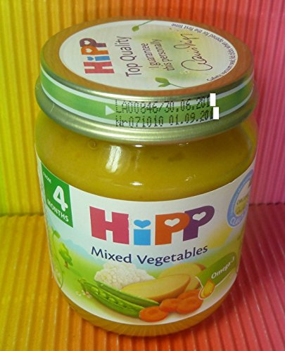 HIPP MIXED VEGETABLES 1 JAR 125g FROM 4 MONTHS ,FRESH