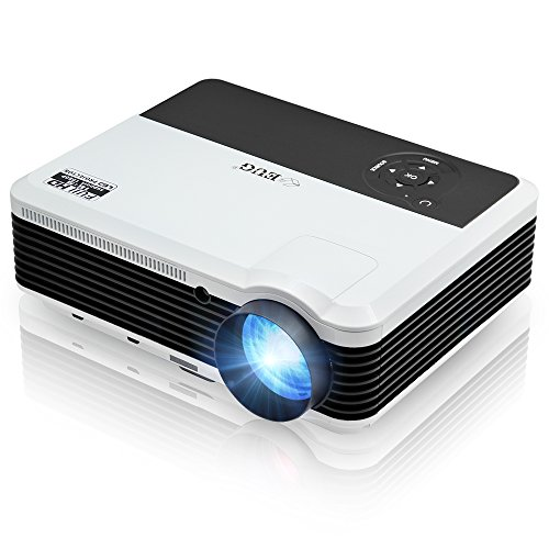 LED Video Projector Portable LCD Projector 3600 Lumens Mu...