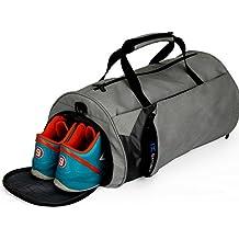 IX Sporty Gear impermeable bolsa de viaje para Hombres y Mujeres con compartimento para zapatos