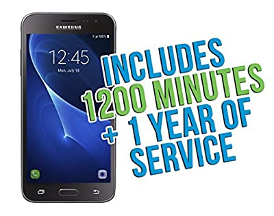 Samsung Galaxy Sky Android 6.0 TracFone with 1200 Minutes/Texts/Data, Triple Minutes for Life