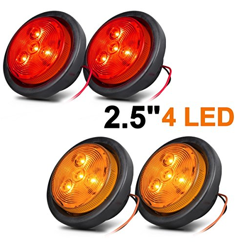 2 1/2 Inch Round Led Lights - 4