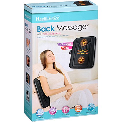 Health Touch Back Massager With Soothing Heat 889779000547