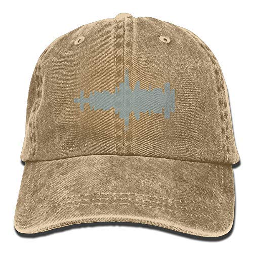 RS-pthr!!! Chicago Skyline Printing Adjustable Baseball Cap Hats for Men Women Adult -