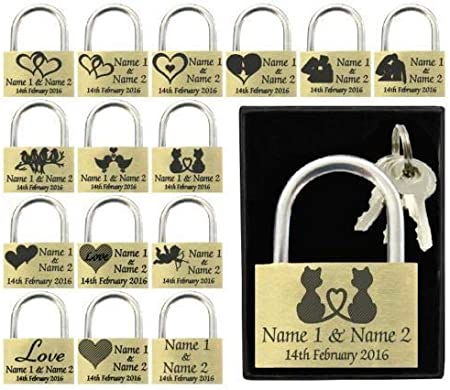 Cadenas personnalisable grav/é pour anniversaire de mariage cadeau de mariage 40 mm cadeau de Saint-Valentin