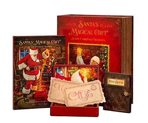 - Santa's Magical Gift Set - With Non-Audio Book, Magic Box and Wish Book