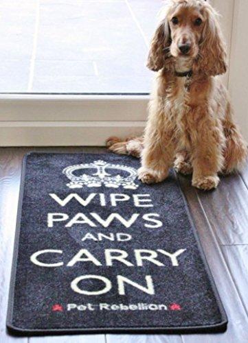 Dog Floor Mat Rug Wipe Paws