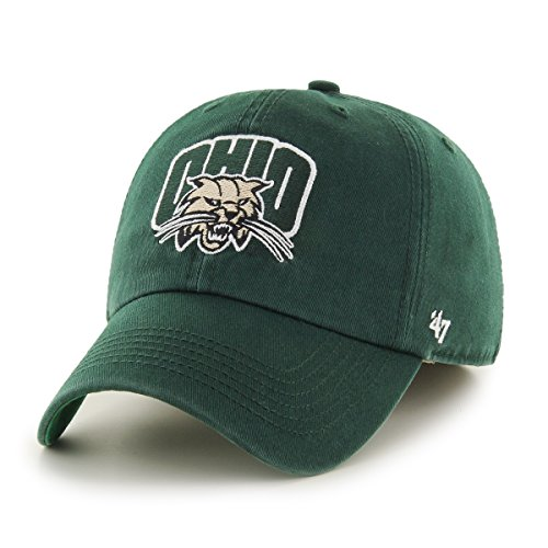 47-ncaa-ohio-bobcats-franchise-fitted-hat-dark-green-large
