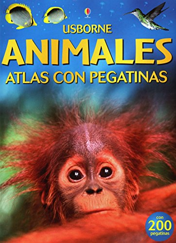 Los Animales Atlas Con Pegatinas: Internet Referenced (Titles in Spanish) por Ruth Brocklehurst