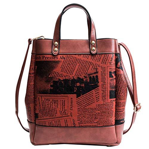 28cm Casuali 32cm Borse Progettista Della Red Del Black 15cm Delle Donna Spesa qE8CCwB
