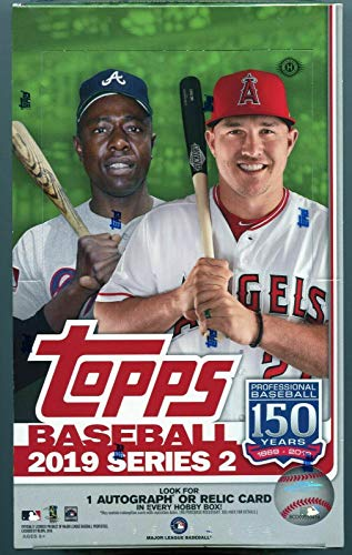 2019 Topps Series 2 Baseball Hobby Box 1 Silver Pack (24 Packs/14 Cards)