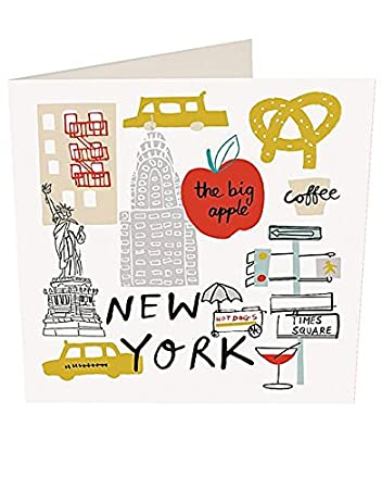 New York Birthday Cards By Caroline Gardner YOU003 Amazoncouk Office Products