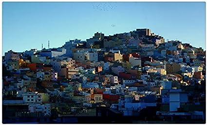 España casas Canarias Islas Canarias provincia de Las Palmas ciudades sitios de viajes postal Post tarjeta: Amazon.es: Oficina y papelería