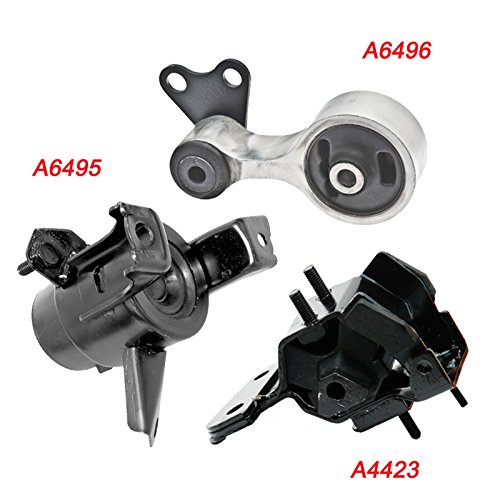Mazda 6 3 0l Engine Automatic 2005 2008: K825-03 : Fits 2003-2008 Mazda 6 3.0L AUTO Trans Engine Motor & Trans Mount Set 3PCS 2003 2004