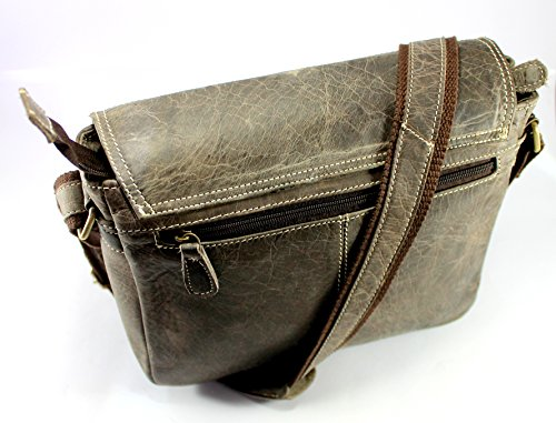 Gray Stonkraft Gray Shoulder Bag 10x12x3 Men 5 For HHwOAxXq