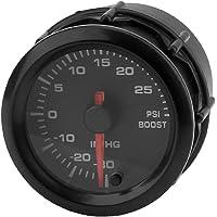 Pigupup 12V Universal Ronda de Coches Boost Manómetro