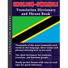 English to Swahili Translation Dictionary and Phrasebook