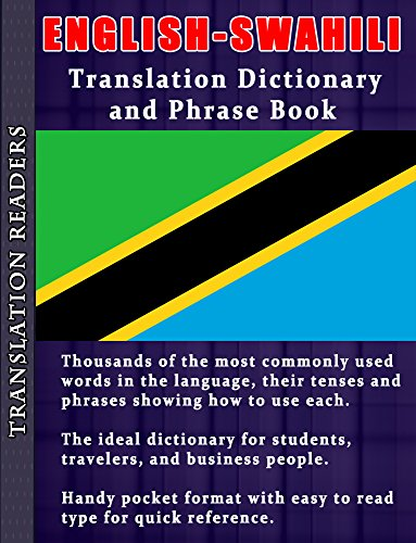 English to Swahili Translation Dictionary and Phrasebook