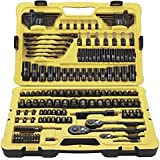 Stanley 183 Piece Black Chrome Socket Set