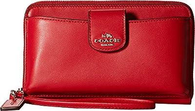 COACH Womens Box Program Universal Phone Wallet