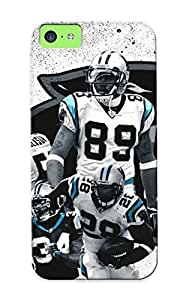 Christmas Gift - Tpu Case Cover For ipod touch4 Strong Protect Case - Carolina Panthers Nfl Football Design