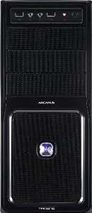 Tacens Arcanus PRO - Caja Semitorre USB 3.0 frontal y rejilla de aluminio, filtro anti polvo, 2 x ventilador 120mm, sin fuente, negro