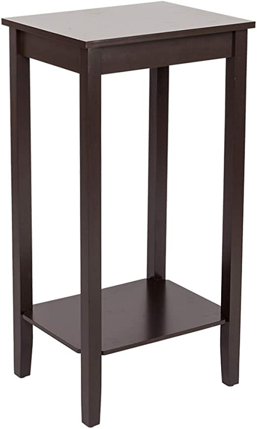 Amazon Com Coffee Side Table With Double Layer High Footed Coffee
