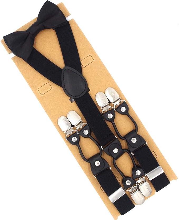 eaodz Conjunto de tirantes Tirantes con corbata Clips ambientales ...