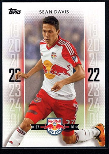 2017 Topps MLS Major League Soccer #166 Sean Davis New York Red Bulls