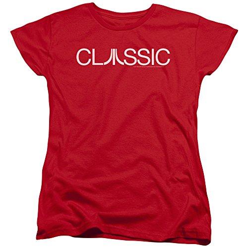 Classique Femme Red shirt Atari T 7w1Ex6