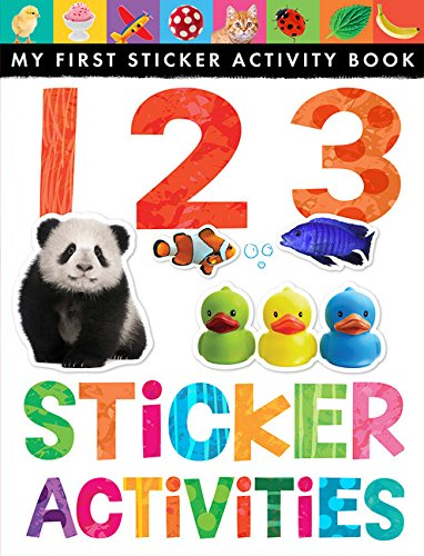 123 Sticker Activities (My First Sticker Activity Book) (Counting Stickers)