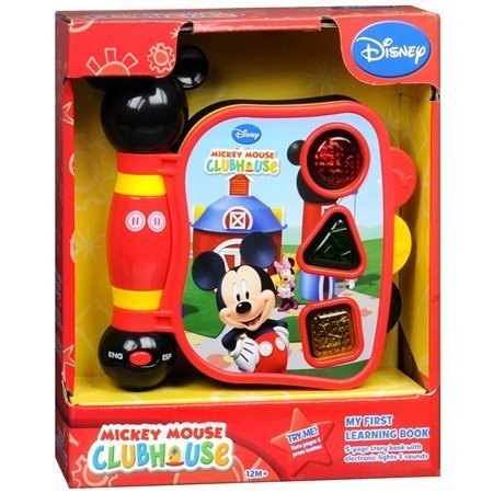 Mickey Mouse Clubhouse, Mickey's My First Learning Book Lights and Sounds (styles may vary)]()