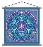 Nouveau Lotus Mandala Meditation Banner