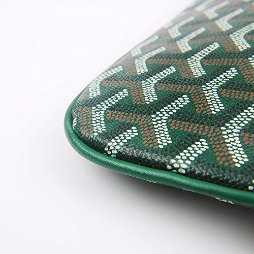 Bag Clutch Envelope Women Pu Women Fashion Handbag Green Designer Clutch for Purses Stylesty zq6fw6