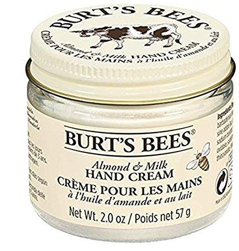 Burt's Bees Almond & Milk Hand Cream, 2 (Almond Milk Beeswax Hand Cream)