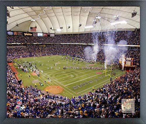 (Minnesota Vikings Metrodome Stadium Photo (Size: 17