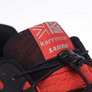 Karrimor Mens Sabre 2 WTX Trail Running Shoes Breathable