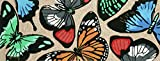 Area Rugs - Beautiful Butterflies Rug - 27'' x 72'' Runner - Butterfly Rug - Indoor Outdoor Rug