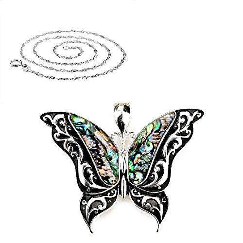 Pizazz Studios Abalone Paua Shell Butterfly - Paua Shell Butterfly