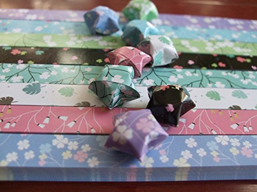 Origami Stars Papers Package Flowers