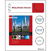 Elementary Principles of Chemical Processes 4e Binder Ready Version + WileyPLUS Registration Card