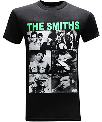 The Smiths Compilation Classic Rock Band Men's T-Shirt - (XX-Large) - Black