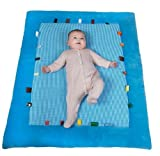 Snoozebaby Cheerful Playing Playmat, Blue For Sale